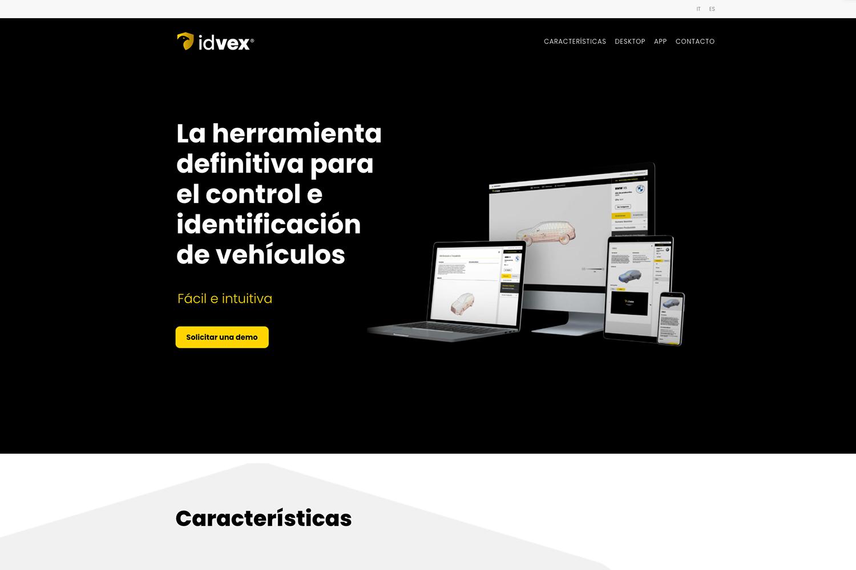 disseny i programació web idvex