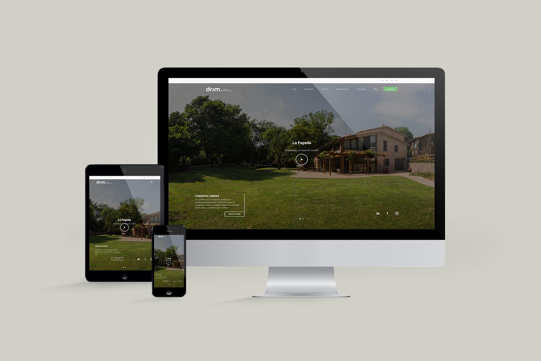 disseny web drim mediambient